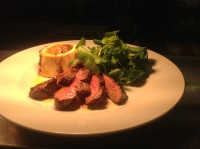 Flat Iron Steak here